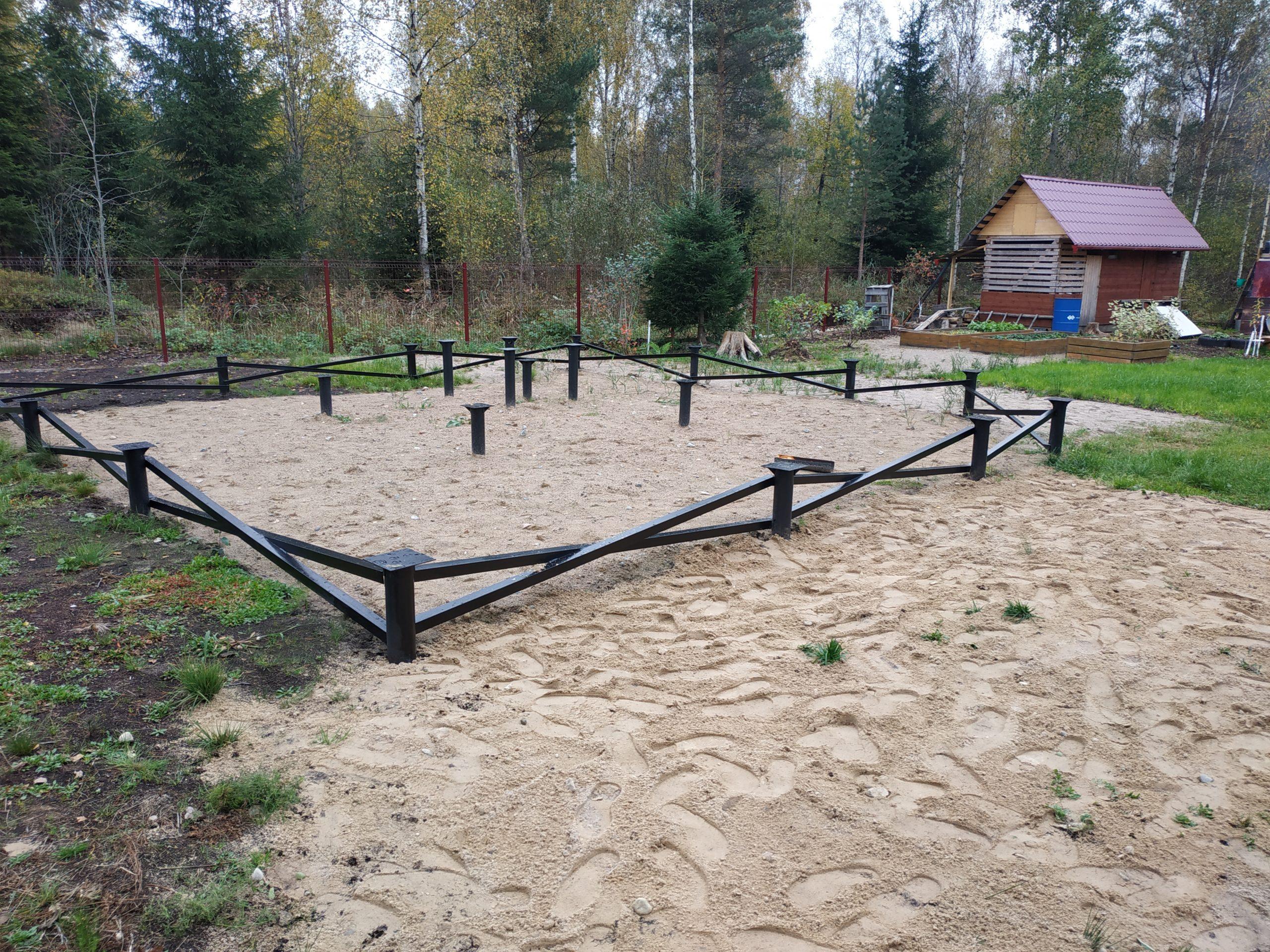 Монтаж свайно-винтового фундамента в Борисова Грива